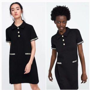 Zara | (S) Chanel Style Dress